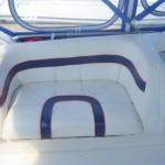 Flybridge seating port aft