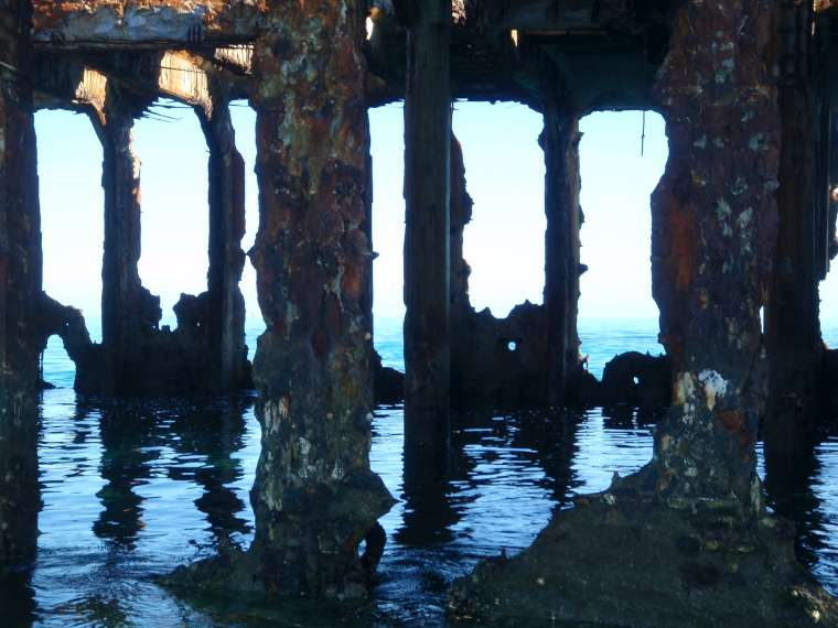 Wreck of the Sapona - from close by