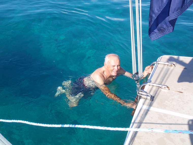 Cooling off - clear water and strong current