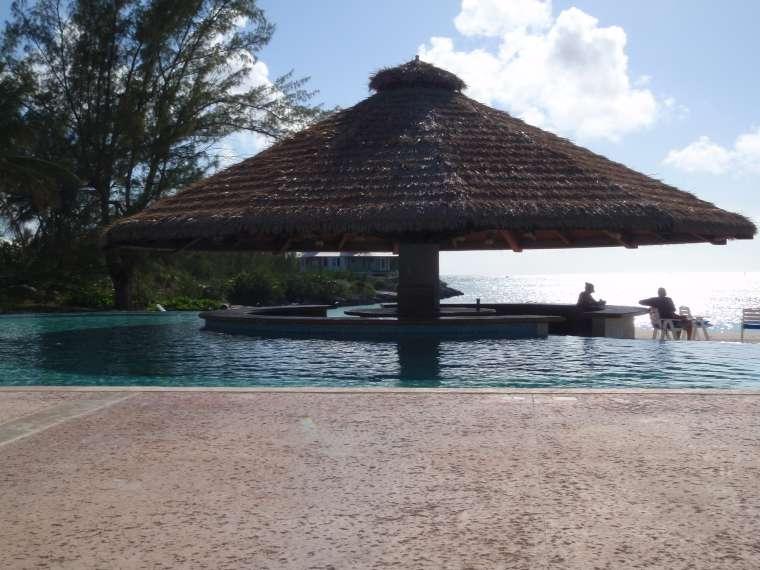Chub Cay Club swimming pool