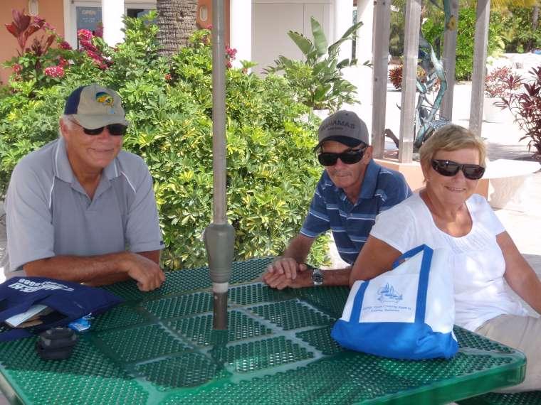 Lance, Alastair & Estelle at Bimini Sands Resort & Marina