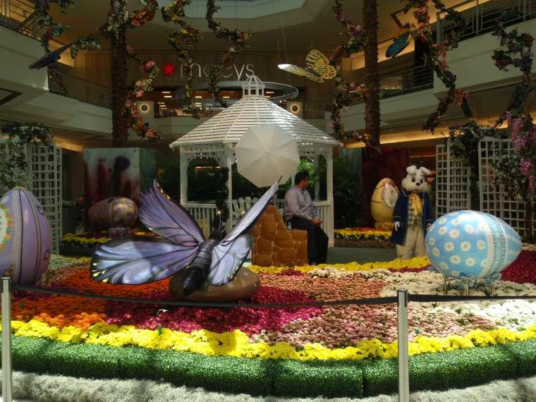 The Easter Bunny's garden