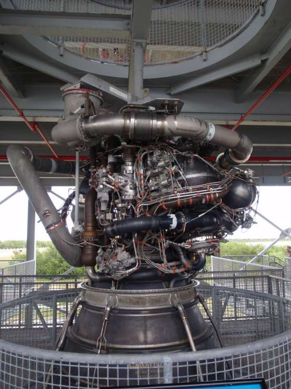 An engine from a Shuttle - Wow where would you even begin?