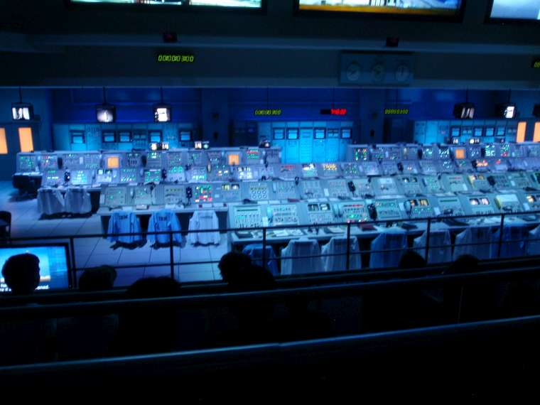 Mission Control - the actual consoles used in the Apollo missions