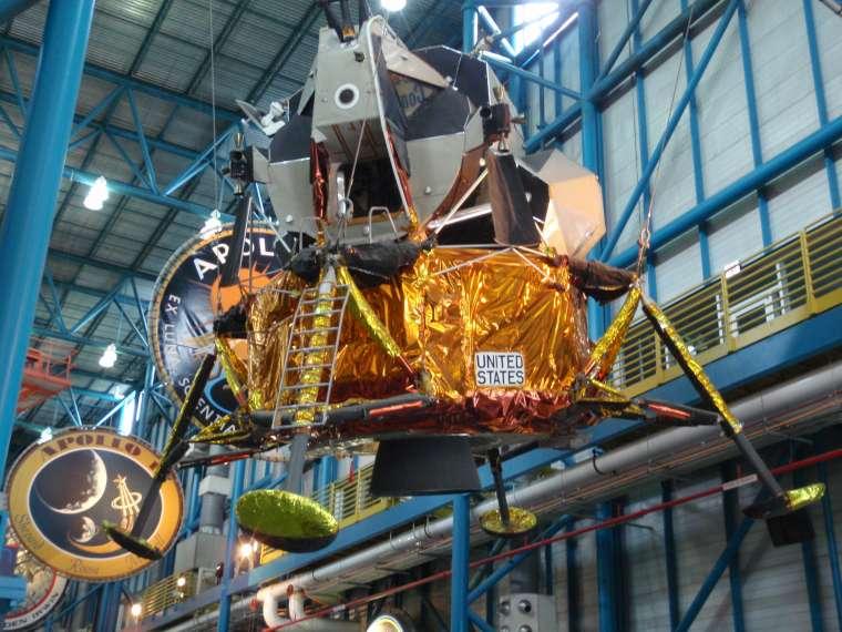 "Lunar landing module - ""The Eagle has landed!"""